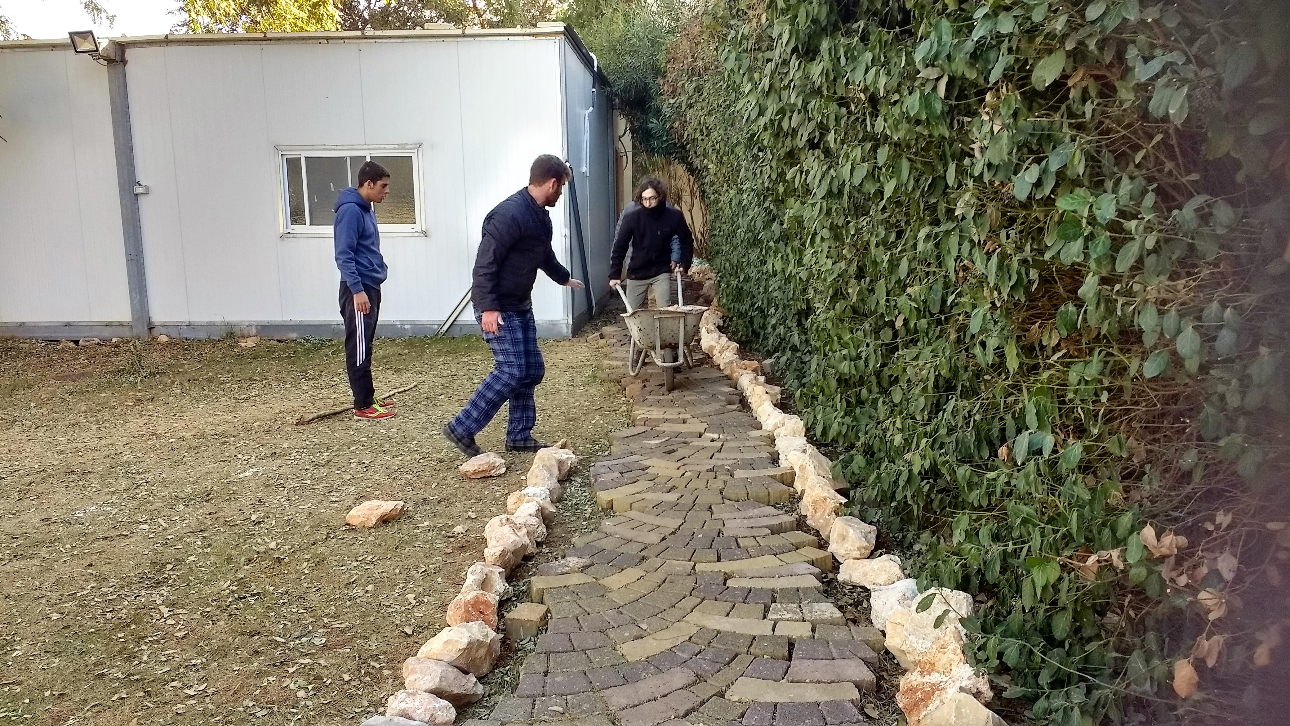Building a path