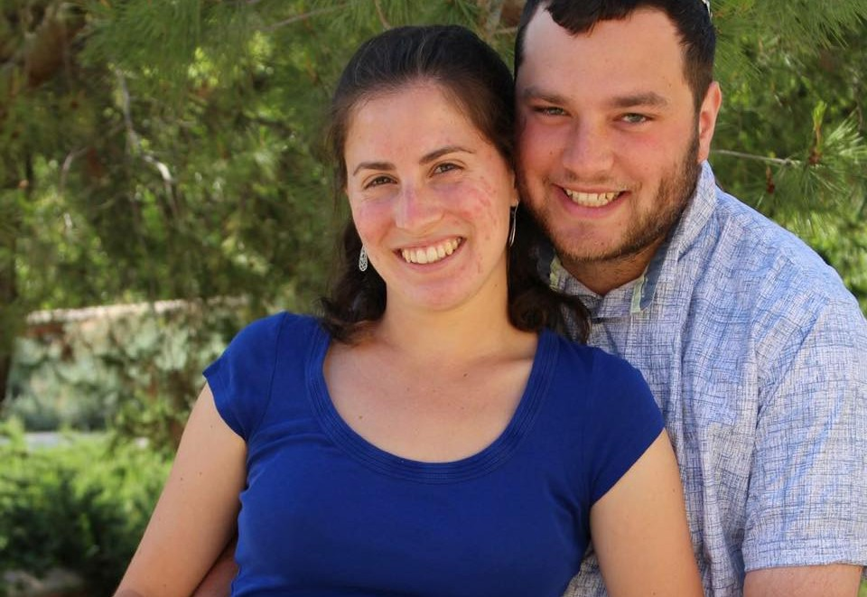 A Rabbinical student in Israel