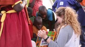 איילה באוגנדה מלמדת את השפה העברית