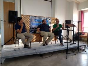 ראשי מכינות (מימין לשמאל): ג'וני ויין - קול עמי; איתי כפסוטו - חנתון; עמיחי שיקלי - תבור