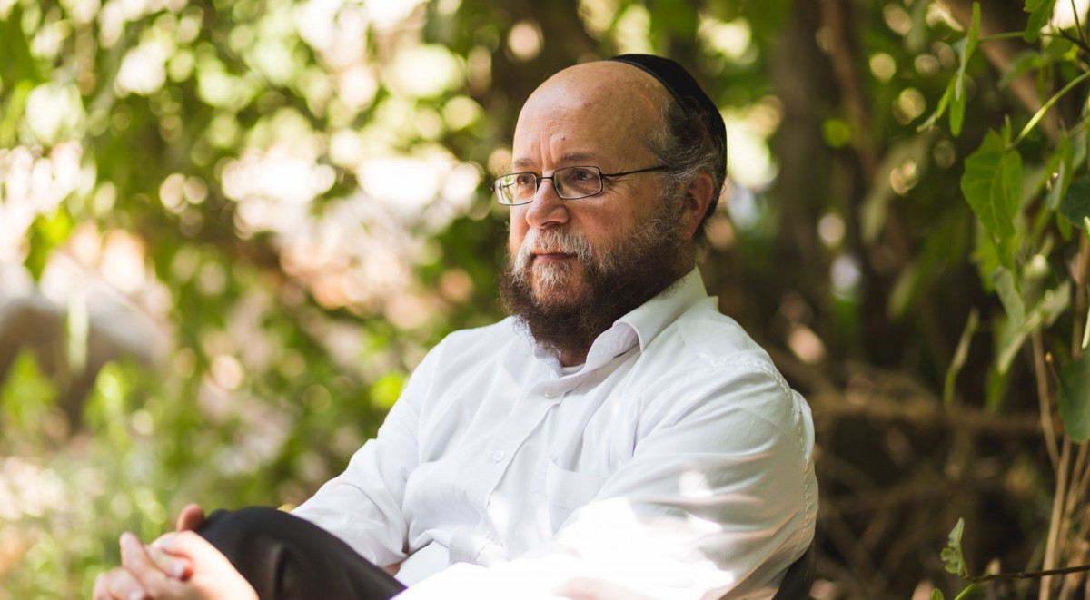 Rabbi Menachem Succot from article in Yediot 2019